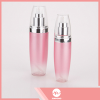 Cheap hot sale top quality airless pump bottle aluminum cosmetic container
