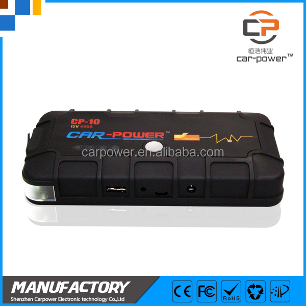 high rate car jump starter accessaries power pack LED light