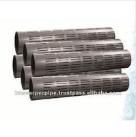 High Quality PVC Screen Pipes / Well Casing Pipes