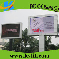 Outdoor digital comercial advertising screen P10 led display panel