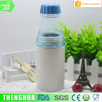 Wholesale 500 ml personalized recycled plastic milk cup water bottle