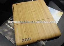 High quality New product Stylish wooden cover for ipad3 wooden case