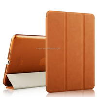 PU Leather Magnetic Front Smart Cover Cases,Magnetic Smart Cover Leather Case for iPad Air 2 Case
