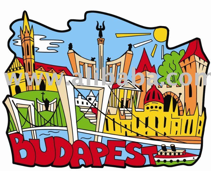 Budapest luoghi 2.-Altri regali e mestieri-Id prodotto:114087478 ...