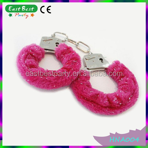 2015 Factory Hot Sale Party Supplies Sex Furry Fun Handcuff For Adult