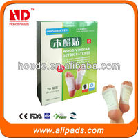 Natural Plant Extracts Bamboo Vinegar Detox Foot Patch