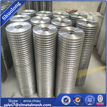 ISO9001 GI welded mesh galvanized welded wire mesh factory