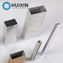 Customizable Aluminum Raw Materials Square Tube Aluminium