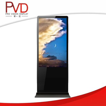 46 '' Floor Standing HD LCD Advertising Player