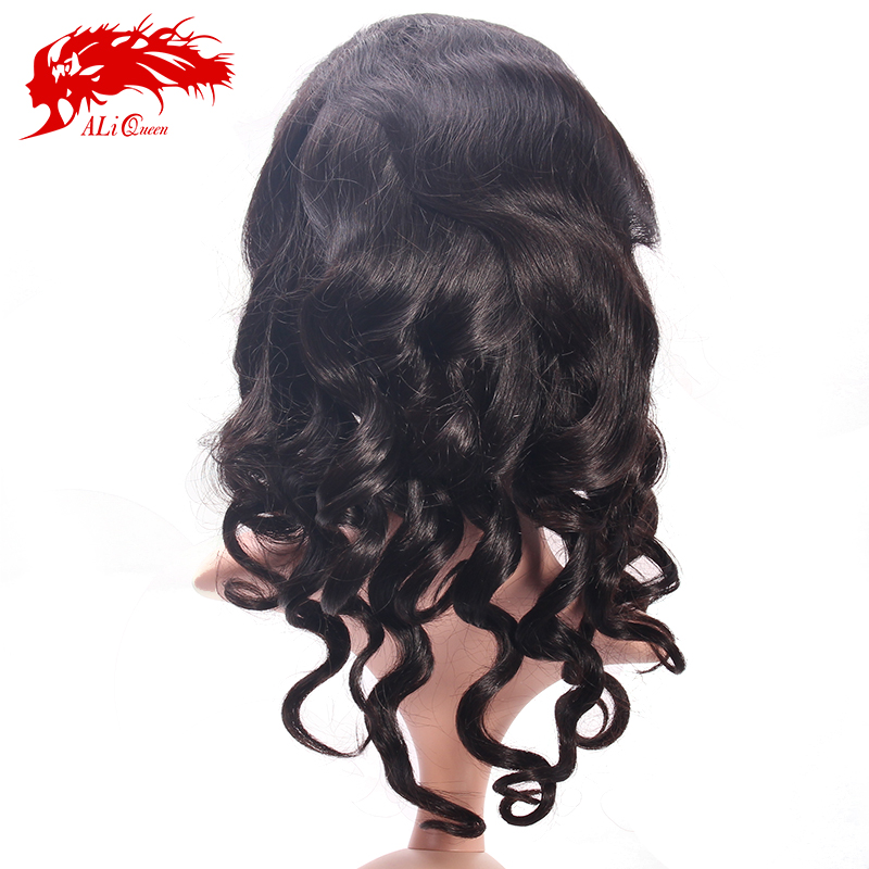 Best selling loose wave 100% virgin indian woman hair wig