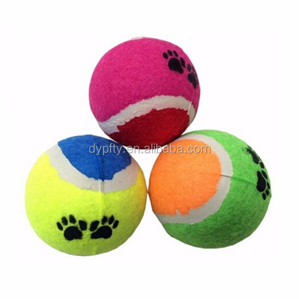 colored mini tennis balls 38mm