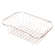 Custom 304 201 Stainless Steel Kitchen Sink Small Sink Drain Wire Mesh Basket