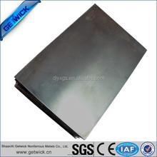 The Factory Provide Nickel Titanium Shape Memory Alloy Sheet in stock