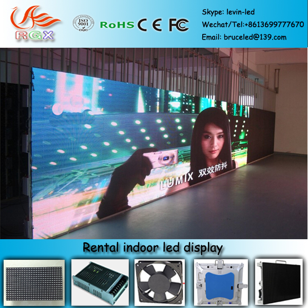 RGX N95 High quality indoor china alibaba ultra thin led display, indoor rental small led display screen