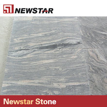 Newstar Gold Sandy Beach and Fish Design Wall Tile of Granite