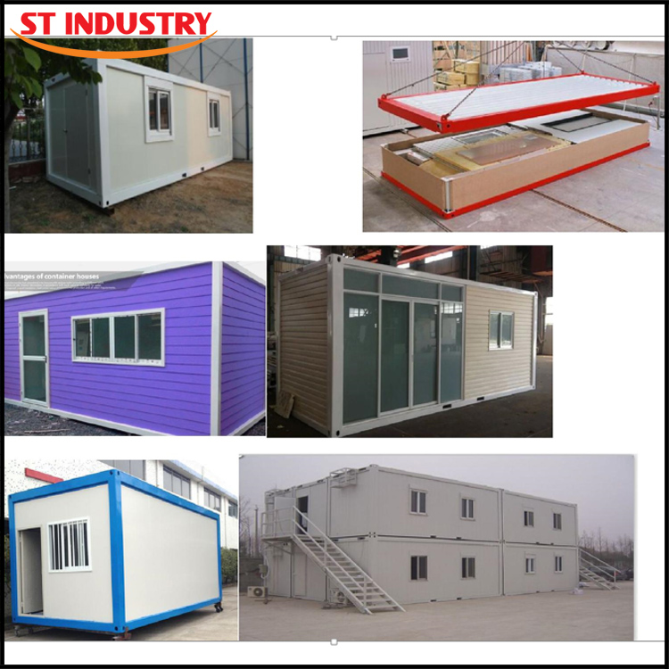 2016 the latest design luxury 20ft 40ft sandwich panel container home