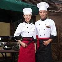 China Wholesales Factory OEM Supply Chef Uniform Hotel Kitchen Uniforms
