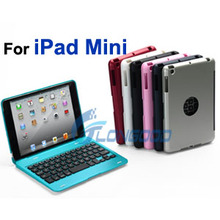 New Tablet Wireless Bluetooth Keyboard with Stand Hard Case Cover for iPad Mini / ipad Mini Retina