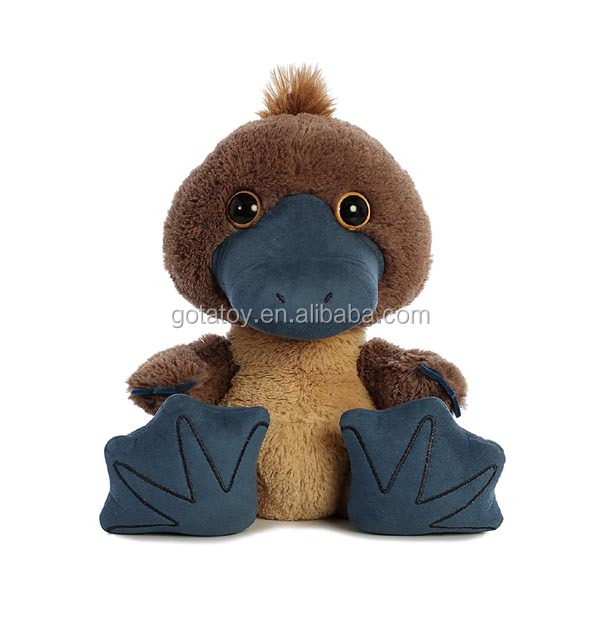 New design custom stuffed plush platypus soft toy