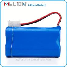 Factory Li-ion18650 Rechargeable Customized Battery Pack 7.4v 2600mAh