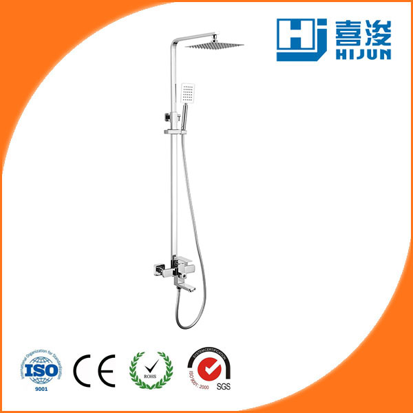 surface mounted shower faucet valve
