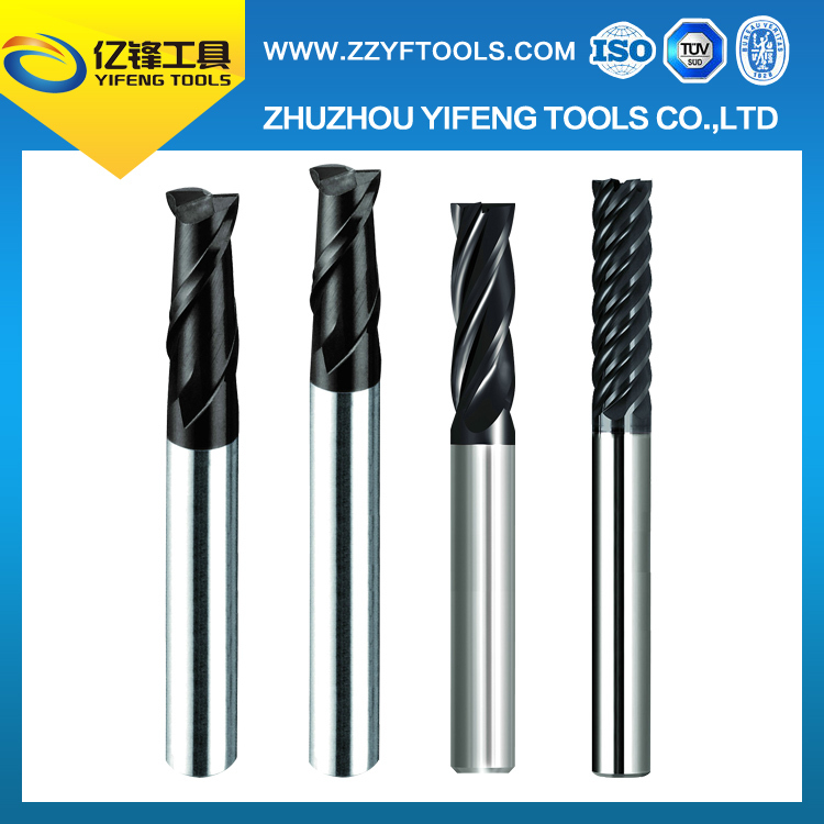 Factory direct sales various <strong>carbide</strong> 2 flute flattened end mills with long shank