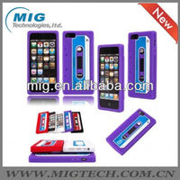 Tape design silicon case,for apple iphone 5 64gb case for iphone 5S