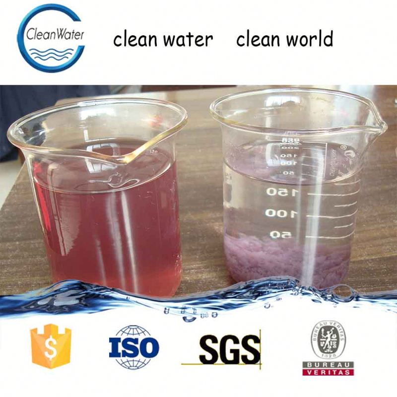 egypt dyeing effluent decolorizing CW-08 Water Decoloring Agent