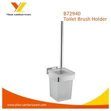 Ningbo Brass Chromed Toilet Brush Holder