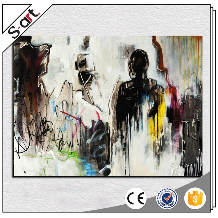 China supplier reasonable price abstract indian oil painting