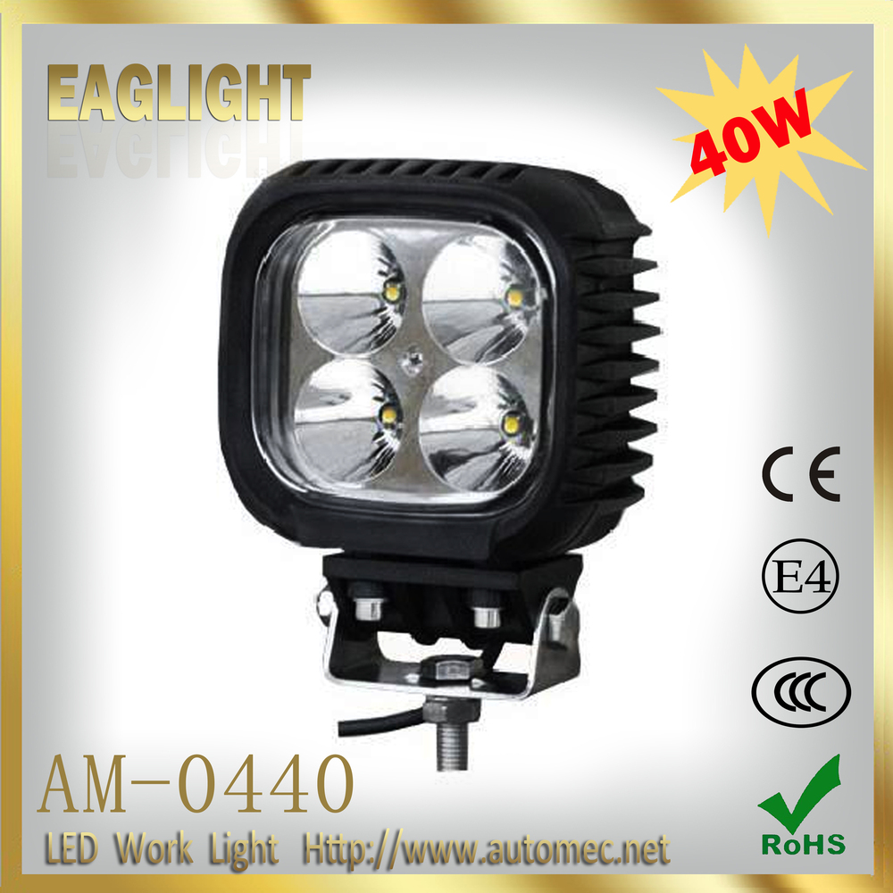 2016 new ECE 40W offroad extra car 6000k IP67 Led headlight automotive