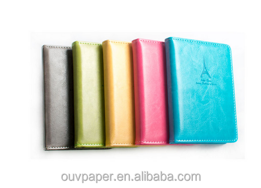 PU Leather Notebook Commercial Gift Portable Diary Stationery Notebook and Journal Diary