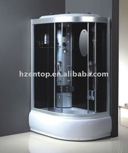 Double luxury steam shower room with TV