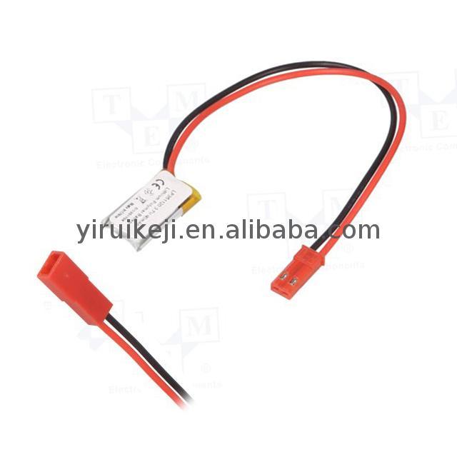 High quality rechargeable lipo battery 3.7V 40mAh li-polymer cell 3.7 v batteries