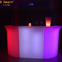 modern design acrylic solid surface illuminated led bar counterBar Counter Designs For HomesLed Furniture