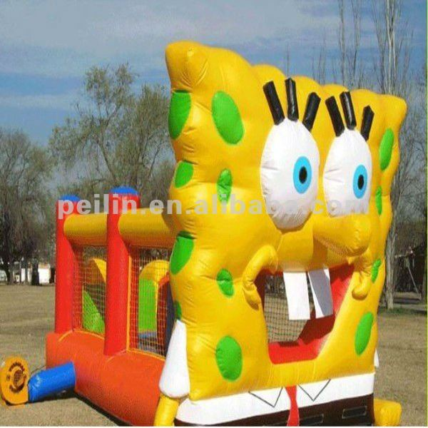 2012 new inflatable Sponge big eye bob castle