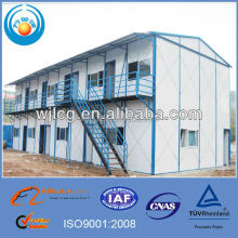 high quality temporary site office/wall wood paneling office/site office container