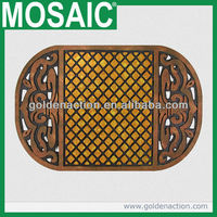 Recessed miracle sisal entry mat