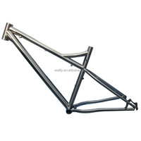 Handcraft made Snow Titanium fat bike frame with factory price