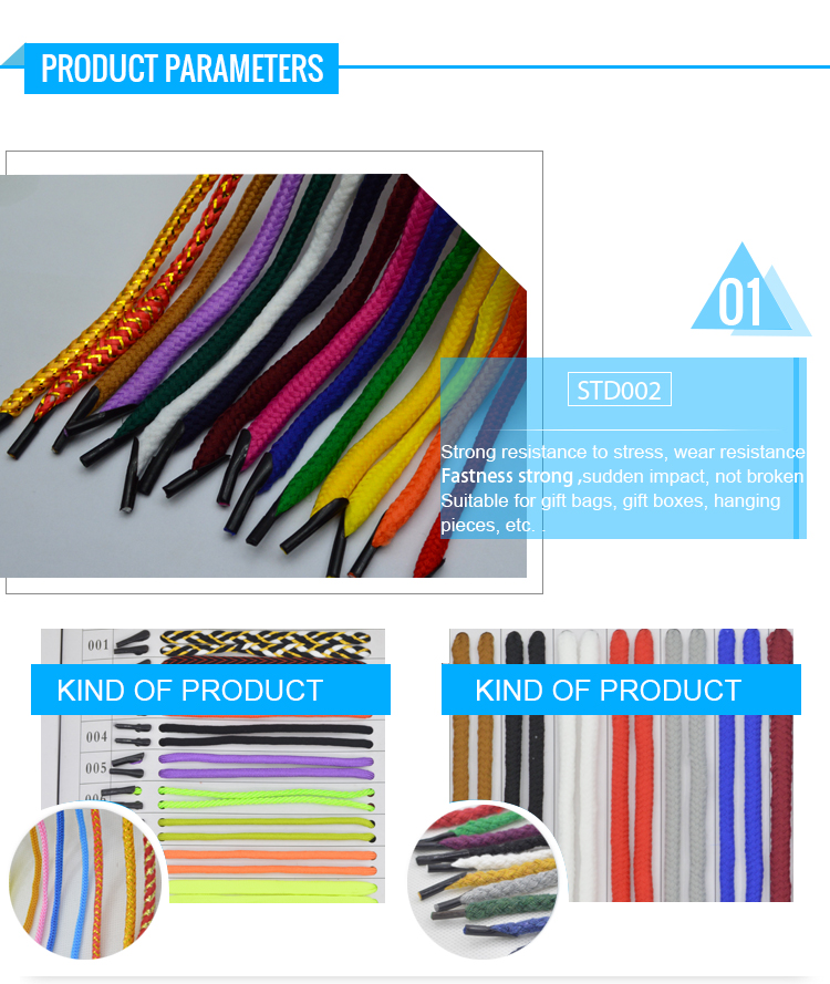 wholesale cotton rope for shopping bags twist rope