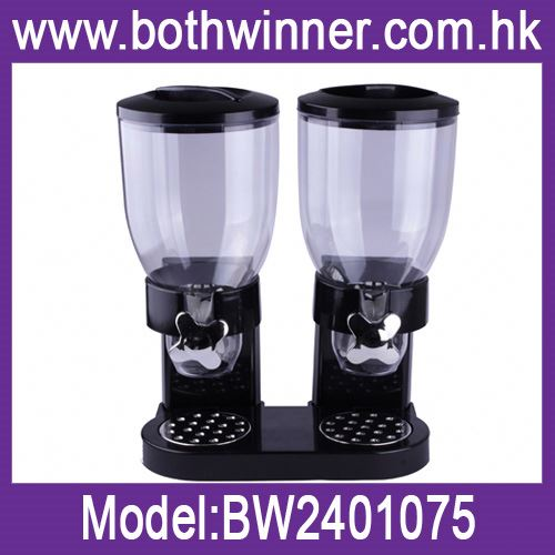 coffee beans dispenser ,H0T063 lucite hotel cereal dispenser