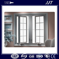 energy efficient 6063 t6 perfil ventana abatible de aluminio