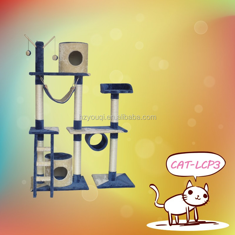 Outdoor contemporary cat trees 2016 top sale pet toys