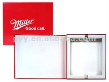 2012 GYY Electronic Promotional Binder Box with die cut foam inside