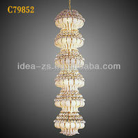 C79852 crystal chandelier parts bowl, decorative hanging pendant light, modern crystal wall light