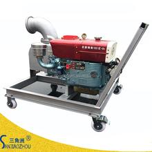 Shanghai cheap movable diesel engine agricultural pump
