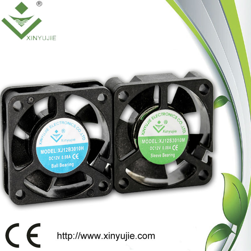 2015 Xiniyujie computer appliance axial fan 30x30x10mm/suntronix or martech axial fan