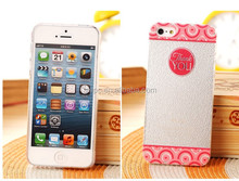 2014 wholesale products plastic case for iPhone5/5s with carton pictures