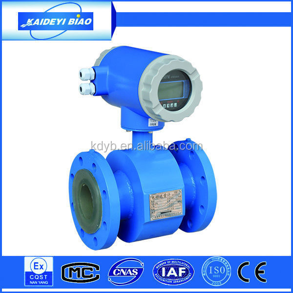 High quality cheap custom digital flow meter o% alcohol beer electromagnetic flow meter made in china