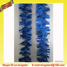 Blue Outdoor Christmas Tinsel,Christmas Decoration